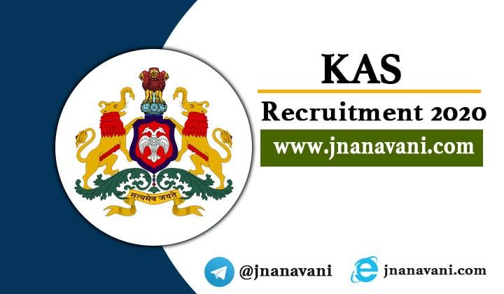 KAS Recruitment 2020